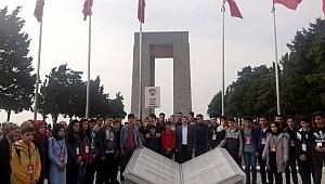 Öğrenciler Tarihi Alanı gezdi