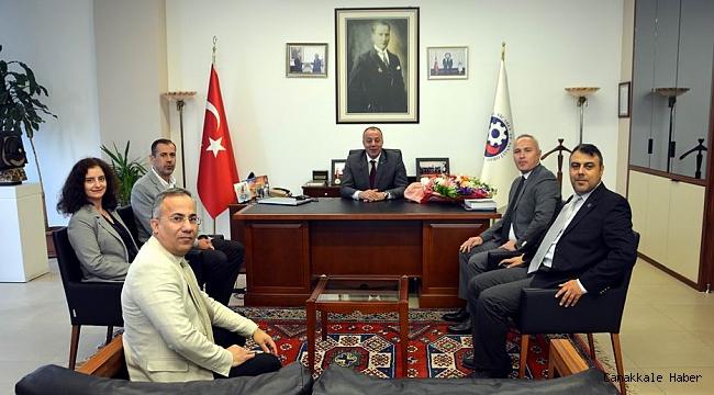 Soykan'dan Semizoğlu'na ziyaret