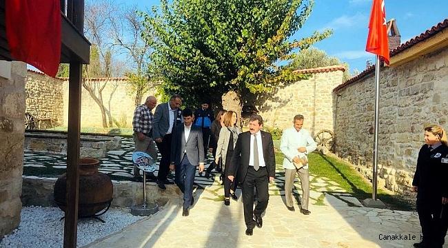 Vali Tavlı'dan Atatürk Evi ve Müzesi'ne ziyaret