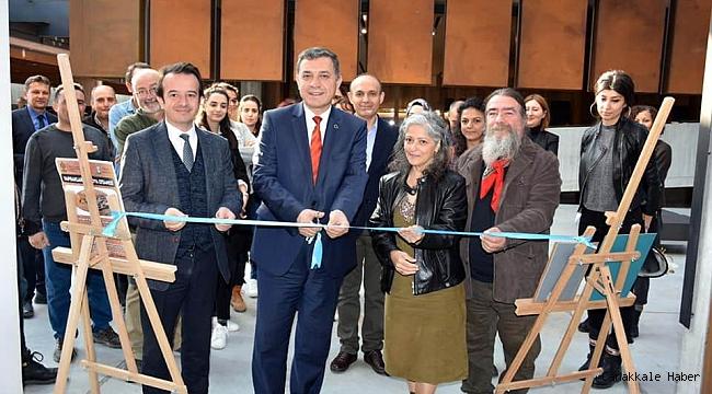 'Yapraklarda Troya Efsanesi' sergisi açıldı