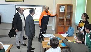 Afetlere hazırlık eğitimi düzenlendi