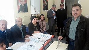 AK Parti'de coşkulu seçim