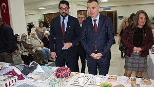 Başkan Arslan eserleri inceledi