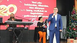 Başkan Arslan, personelin yeni yılını kutladı