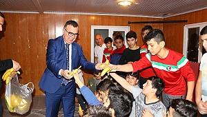 Başkan Arslan sporcularla buluştu
