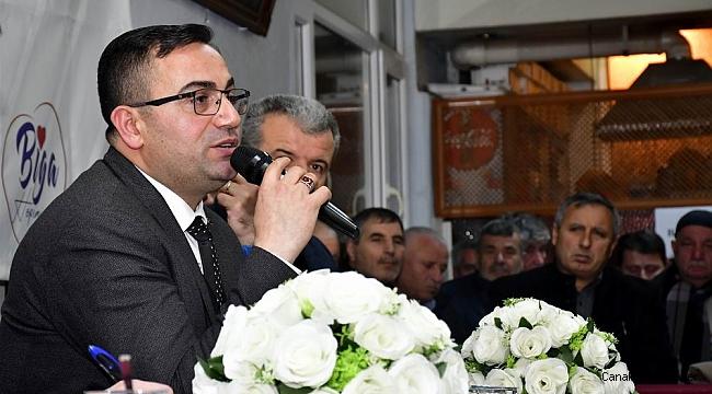 """Başkan Erdoğan; """"Biz sizlerin emrinizdeyiz"""""""