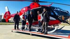 Çanakkale'ye helikopter ambulans