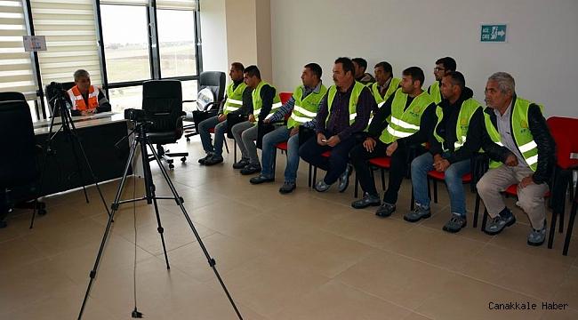 ÇTSO'da mesleki yeterlilik sınavları sürüyor