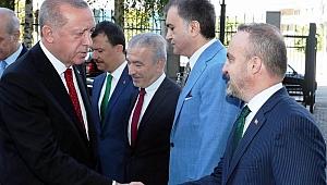 Cumhurbaşkanı Erdoğan'a Turan eşlik edecek