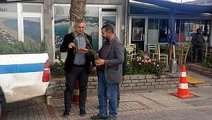 Geyikli'de vatandaşlara fidan dağıtıldı