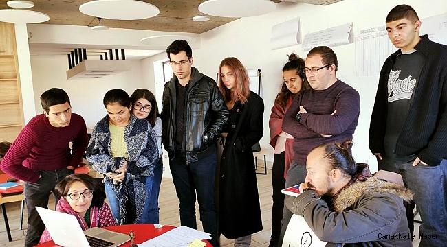 Koza Gençlik Derneği üyeleri Ermenistan'da