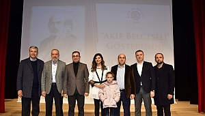 Mehmet Akif Ersoy Biga'da anıldı