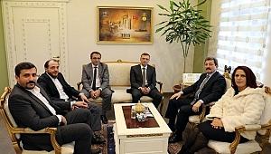 MHP'den Vali Tavlı'ya ziyaret