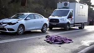 Otomobil çarptı, hayatını kaybetti