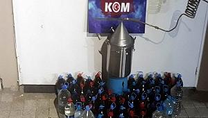 Yenice'de kaçak içki operasyonu