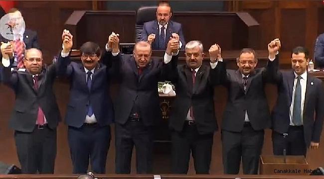 5 Belediye Başkanı AK Parti'ye katıldı