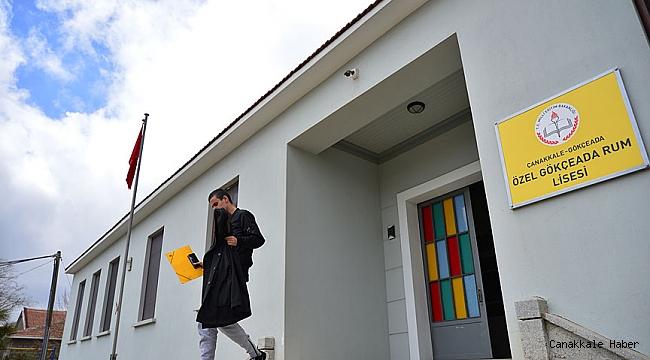 Adalardaki okullar tatil edildi