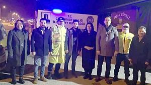 AK Parti'den yılbaşında çalışan personele ziyaret