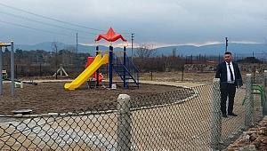Ayvacık'a yeni çocuk parkı yapıldı
