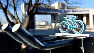 Bisiklet park alanları çoğalıyor