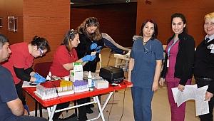 Hastanede kan bağışı
