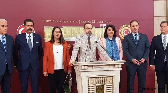 Komisyon raporu genel kurulda görüşüldü