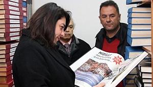"""İskenderoğlu; """"Kütüphanemiz Çanakkale'mize hayırlı olsun"""""""