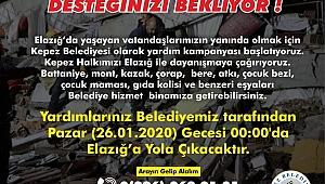 Kepez Belediyesi de kampanya başlattı