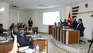 Kepez'de meclis toplandı