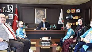 Başkan Öz'den öğrencilere destek