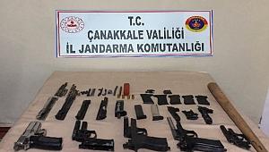 Biga'da silah ticareti operasyonu