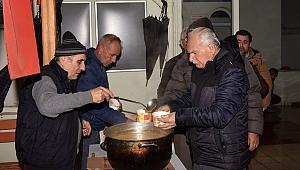 Çan'da çorba ikramı