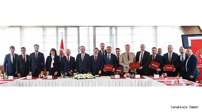 Çanakkale'ye 32 milyon TL'lik yatırım