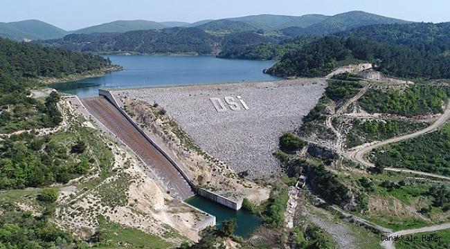 DSİ Çanakkale'ye 18 baraj, 7 gölet yaptı
