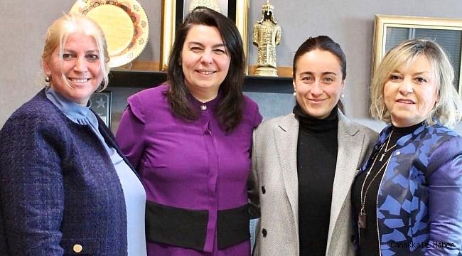 İskenderoğlu'dan kadın girişimcilere destek