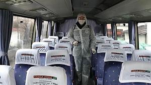 Okul ve toplu taşımalarda hastalıklara geçit yok