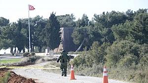 Tarihi Alan'da el bombası bulundu