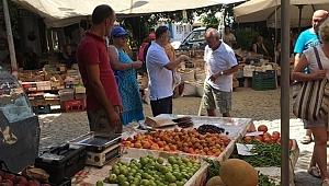 Bozcaada halk pazarı için karar