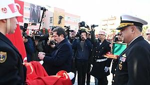 Çanakkale'de 18 Mart töreni