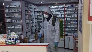 Gelibolu'da dezenfekte çalışması…