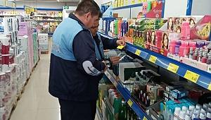 Geyikli'de ürünlerin fiyatları kontrol edildi
