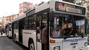 Halk otobüslerinde saat değişikliği