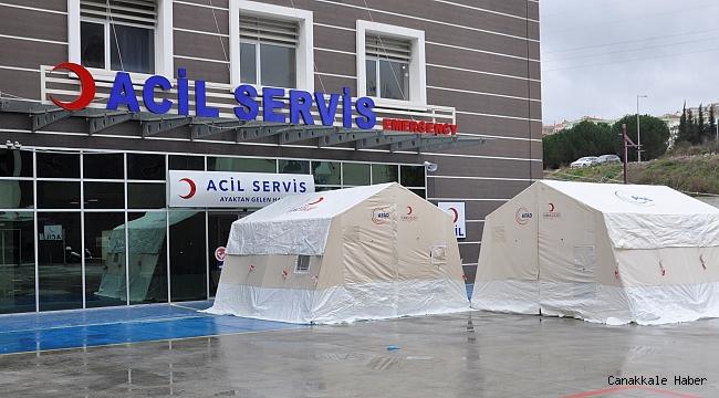 İki hastane 'Pandemi' Hastanesine dönüştürüldü