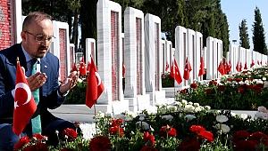 """Turan; """"Çanakkale Destanı, bir milletin yeniden doğuşu ve şeref abidesidir"""""""