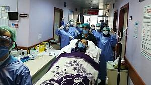 92 yaşında koronavirüsü yendi