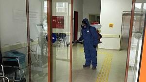 Aile Sağlığı Merkezleri dezenfekte edildi