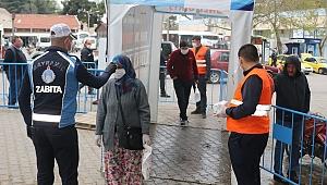 Bayramiç Belediyesi, virüsü ciddiye alıyor