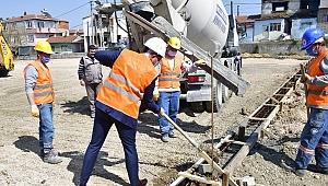 Biga'da 3 projenin temeli atıldı