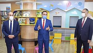 Biga'da çocuk kütüphanesi hizmette