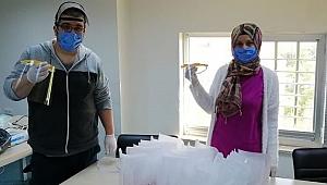 Çan'da koruyucu siperlik üretimi